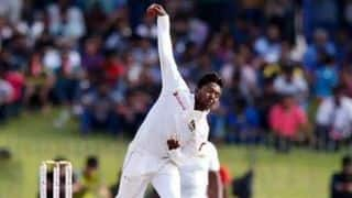 Akila Dananjaya suspended from bowling in international cricket for 12 months due to illegal action